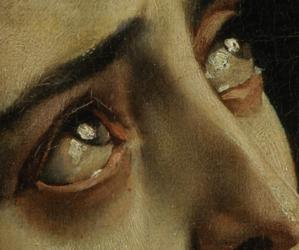 art, pompeii, and eyes image