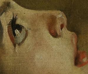 art, eyes, and pompeii image