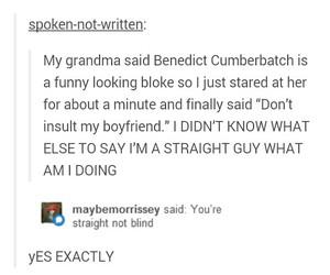 funny, sherlock, and tumblr image