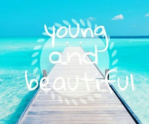young and beautiful image