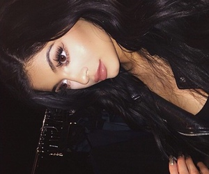kylie jenner and make up image