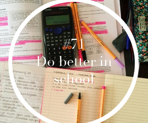 school, hope, and live image