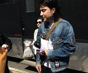 frank iero, the cellabration, and my chemical romance image