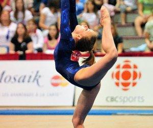 floor, gymnastics, and charlotte mackie image