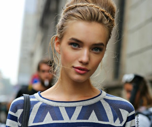 beauty, blonde, and face image