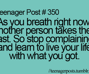 teenager post, breath, and life image