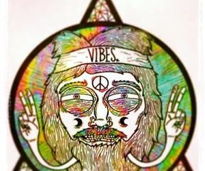 peace, vibes, and hippie image