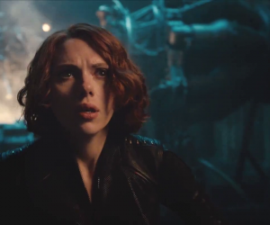 black widow, the avengers, and age of ultron image