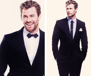 thor, chris hemsworth, and handsome image