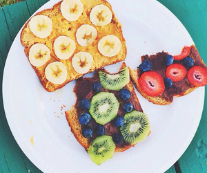 fitness, food porn, and fruit image