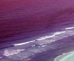 sea, ocean, and pink image