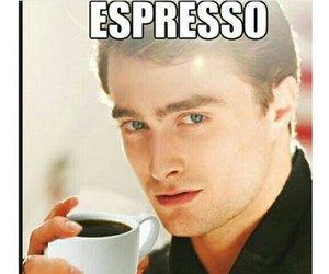coffee, funny, and harry potter image