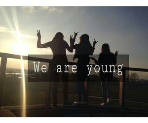 best friends, quote, and young image