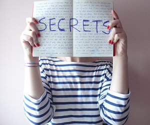 confession, notebook, and secrets image