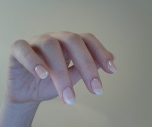 pale, nails, and grunge image
