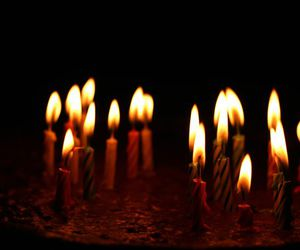 birthday, candle, and candles image