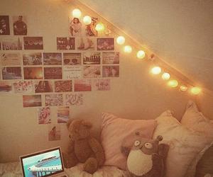 room, girl, and light image
