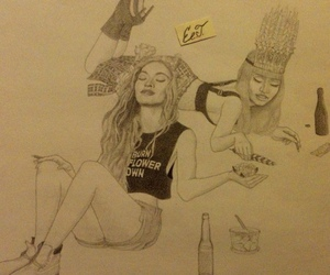 nicki minaj, beyoncé, and queen bey image