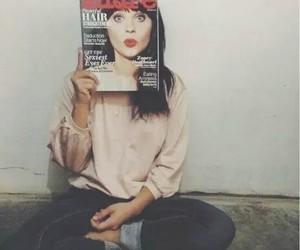 girl, magazine, and zooey deschanel image
