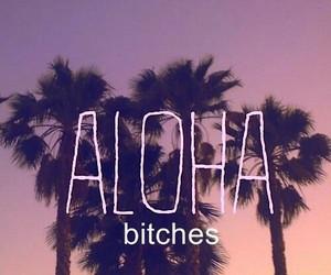Aloha, bitch, and summer image