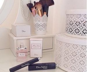dior, makeup, and perfume image