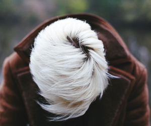 hair and white hair image
