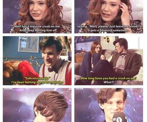 lol, matt smith, and karren gillian image