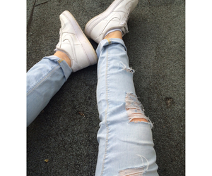 nike, grunge, and jeans image