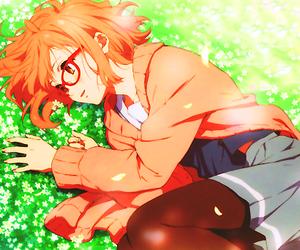 anime, kyoukai no kanata, and kuriyama image