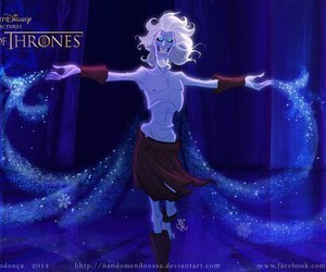 game of thrones, disney, and frozen image