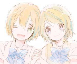anime, school uniform, and sweet image