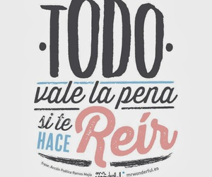 laugh, frases, and smile image