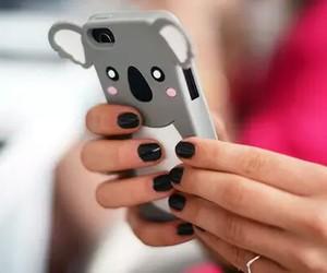 Koala, iphone, and case image