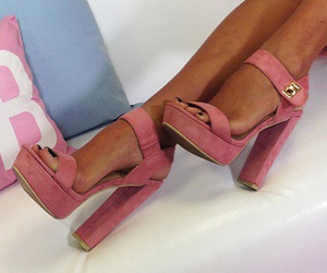 cool, fashionable, and pink image