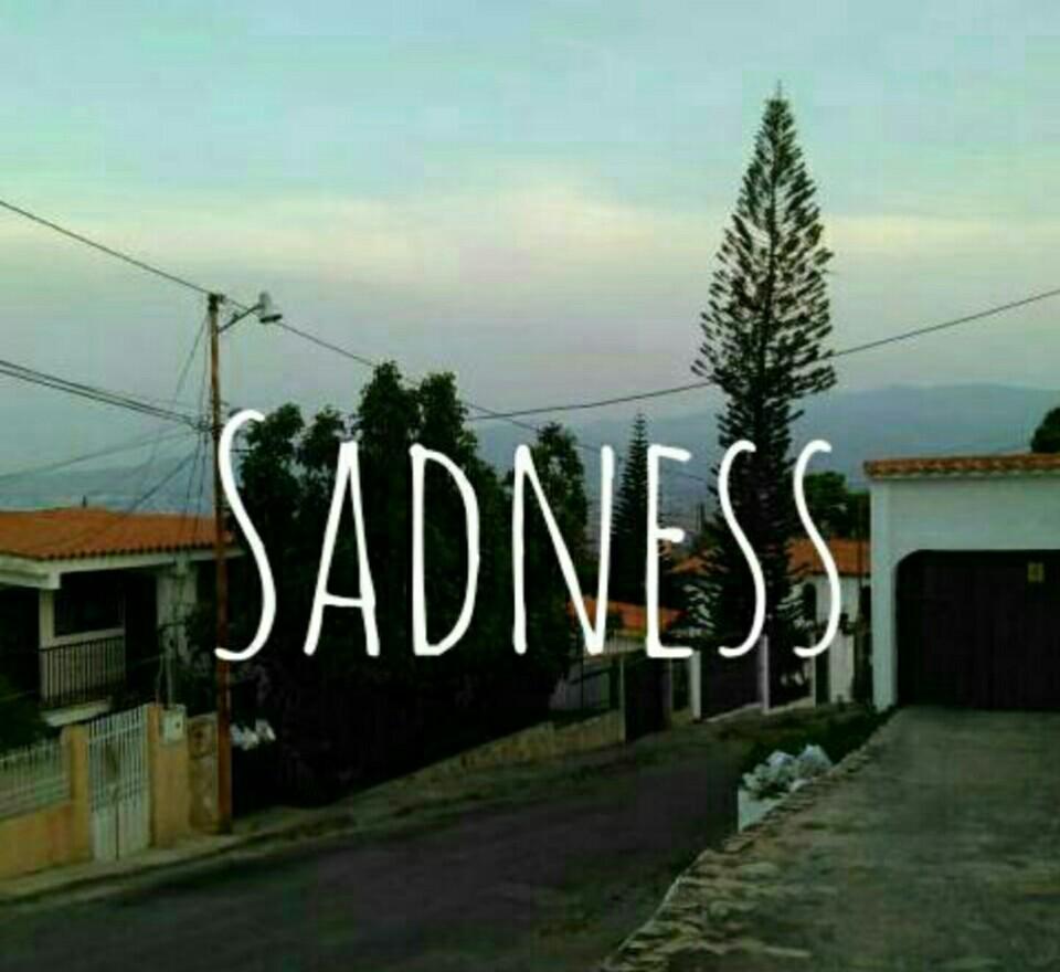 sadness and tristeza image