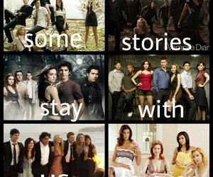 gossip girl, the vampire diaries, and one tree hill image