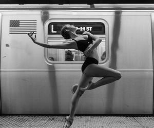 ballerina, dance, and ballet image