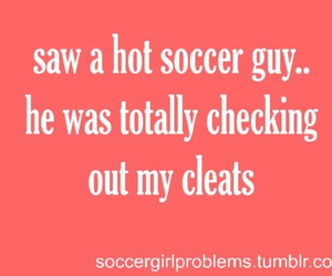 cleats, girl, and funny image