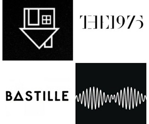 bastille, arctic monkeys, and the 1975 image
