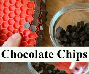 chips, chocolate, and chocolate chips image