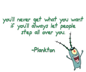 plankton, quote, and spongebob image