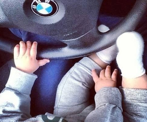 baby, bmw, and boy image