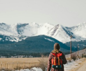 adventure, mountain, and travel image