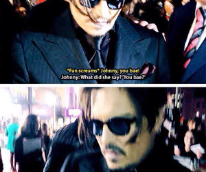 johnny depp, bae, and funny image