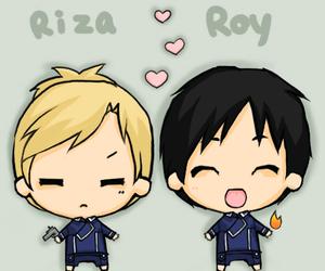 mustang, roy, and riza image