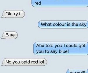 funny, blue, and lol image