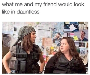 divergent, dauntless, and funny image