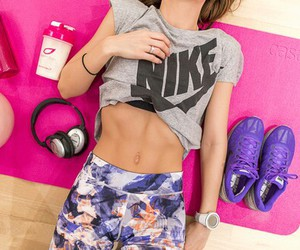 abs, healthy, and fit image