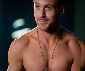 boy, necklace, and ryan gosling image