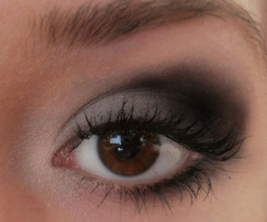 black, brown, and eye image